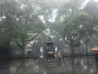 Temple in Hongzhou China by Dr Aksam Merched